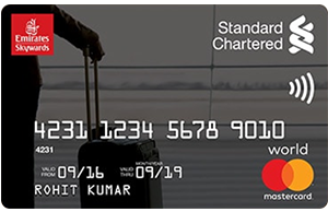 SCB Emirates World Credit Card