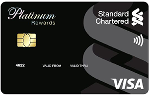 SCB Platinum Rewards Credit Card