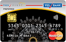 YES Bank - YES FIRST Preferred Credit Card