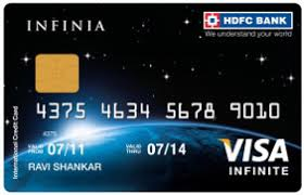 HDFC Infinia Credit Card