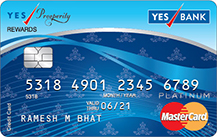 YES Bank Prosperity Rewards Credit Card