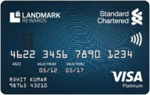 SCB Landmark Rewards Platinum Credit Card