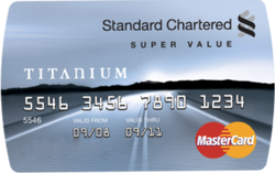 SCB Super Value Titanium Credit Card