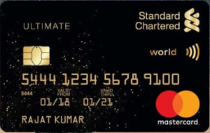 SCB Ultimate Rewards Credit Card