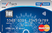 YES Bank Prosperity Edge Credit Card