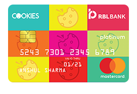 RBL Bank Cookies Credit Card