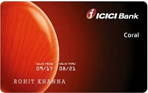 ICIC Bank Coral Credit Card