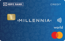 Launched: HDFC Millennia Credit Card