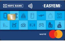 HDFC EasyEMI Credit Card