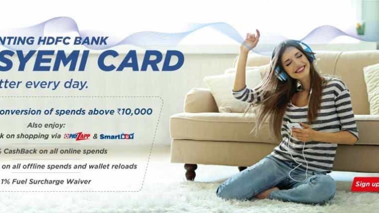 Featured: HDFC EasyEmi Credit Card