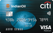 Image of IndianOil Citibank Credit Card